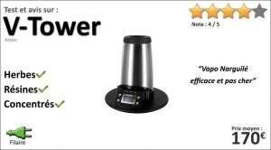 Test et Avis sur le vaporisateur de salon Arizer V-Tower