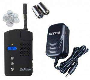 Vaporisateur portable DaVinci et ses accessoires