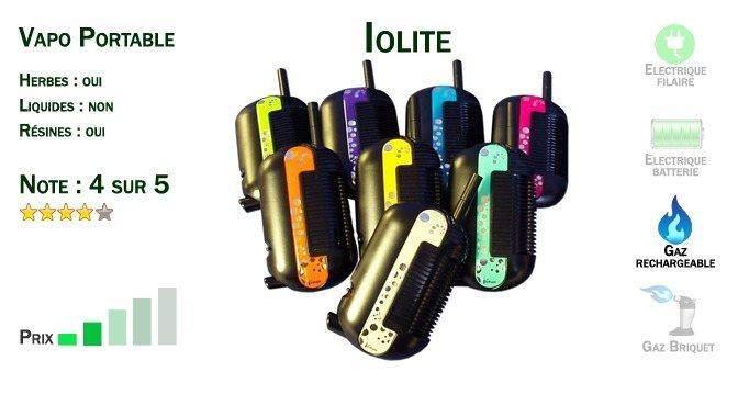 Vapo Portable Iolite