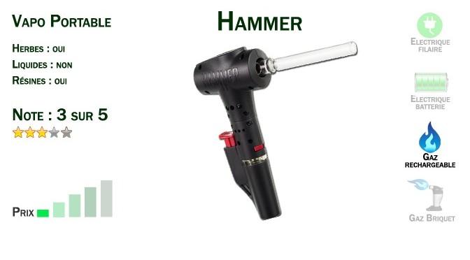 Vaporisateur Portable Hammer