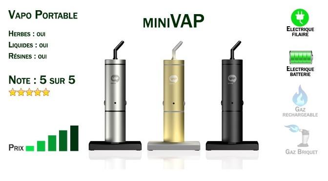 Vaporisateur Portable miniVAP
