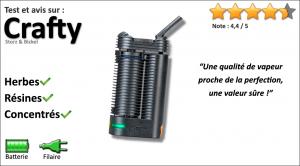 Test et avis sur le vaporisateur portable Crafty