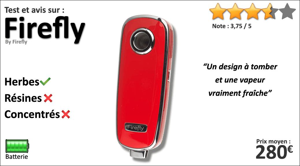 Test et avis sur le vaporisateur portable Firefly