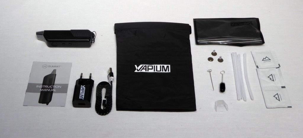 Accessoires vapo portable Summit Vapium