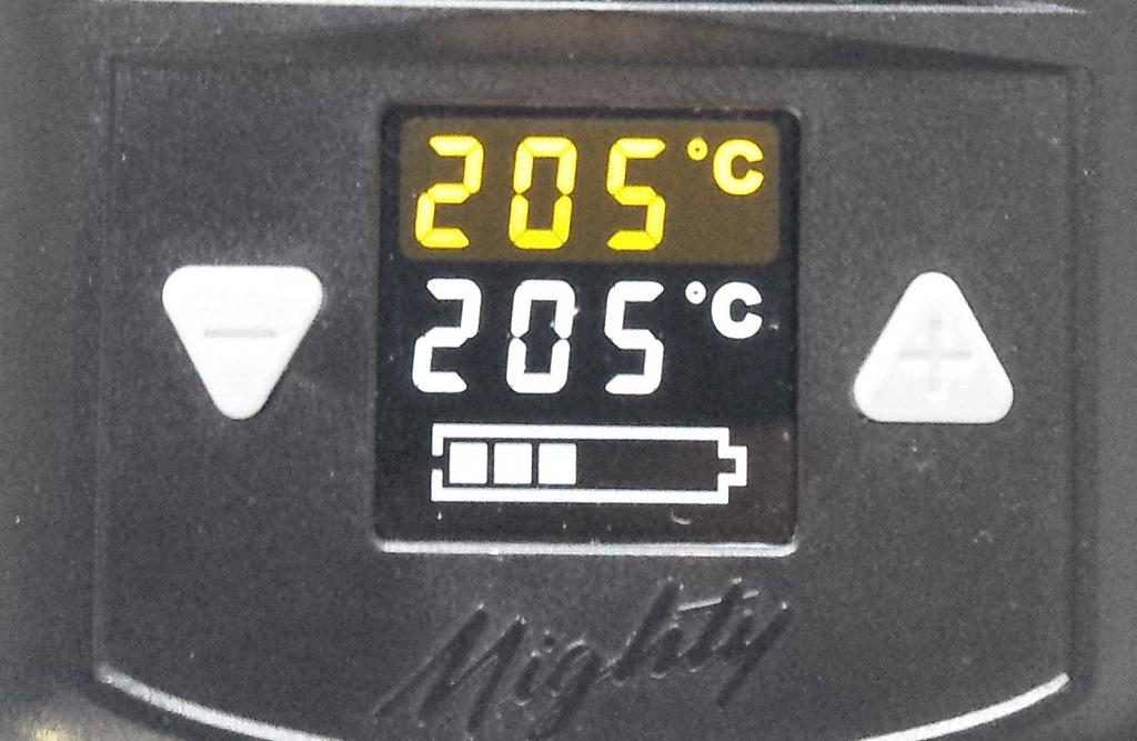 Temperature pour vaporiser du Shit