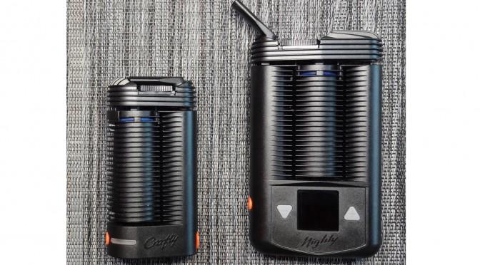 Quelle est la différence entre les vaporisateurs portables Mighty et Crafty ?
