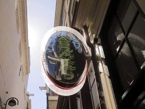 Enseigne du Coffeeshop Abraxas Amsterdam