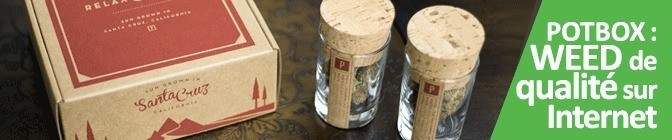 Acheter de la Weed sur Internet avec POTBOX