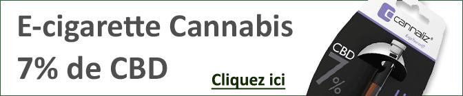 E-cigarette- au CBD Cannaliz