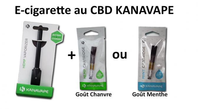 E-liquide CBD kanavape