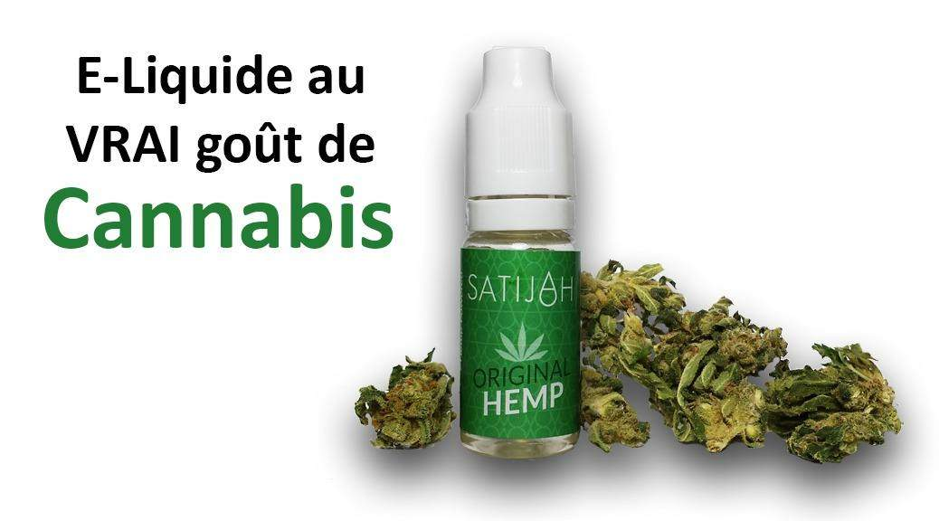 E-liquide au Cannabis Satijah