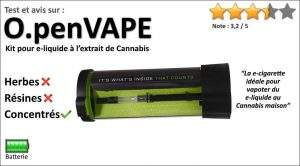 Test de la e-cigarette rechargeable OpenVAPE Kit