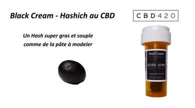 Avis sur le hash Blanck Cream CBD par CBD420