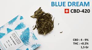 Weed Bleu Dream avis sur le goût et la qualité