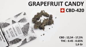 Weed GRAPEFRUIT CANDY test goût et qualité