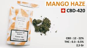 Weed Mango Haze avis sur le goût et les effets