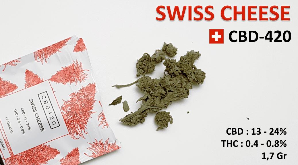 Weed CBD Swiss Cheese Test du goût et de la qualité de cette herbe